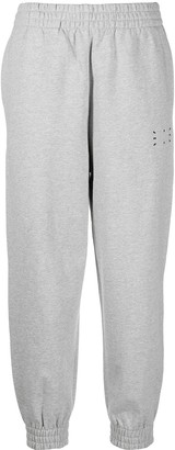 McQ Logo-Patch Cotton Track Trousers