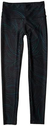 Bloch Odile Print Leggings (Black) Women's Casual Pants