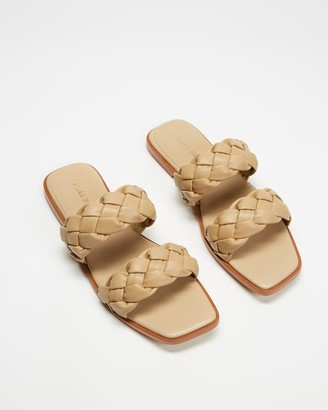 Mae Women's Brown Flat Sandals - Turner - Size 36 at The Iconic
