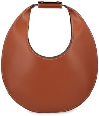 STAUD Large Moon Leather Bag