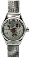 Ingersoll Women's IND 26524 Petite Minnie Analog Display Quartz Silver Watch