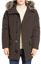 Michael Kors Men's Faux Fur Trim Down & Feather Fill Snorkel Parka