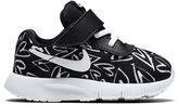 Nike Toddler Girls' Tanjun Print Velcro Casual Sneakers from Finish Line