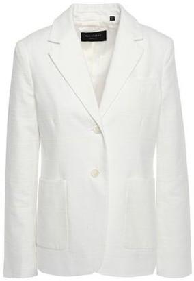 Equipment Aloy Cotton Boucle-tweed Blazer