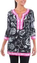 Gretchen Scott Mix Print Tunic Top