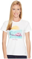 Life is Good Road Trip Sunset Crusher Tee