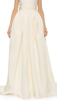 Marchesa Silk Faille Ballgown Skirt