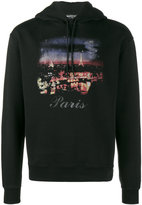Balenciaga Paris print hoodie