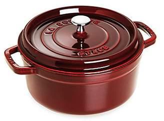 Staub 4-Quart Round Cocotte Pot - Grenadine