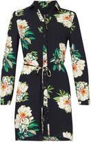 Izabel London Floral Shirt Dress