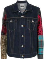 Junya Watanabe multi fabrics denim jacket