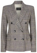 Isabel Marant Check Double-Breasted Blazer