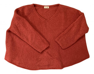 American Vintage Orange Wool Knitwear