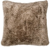 DKNY Loft Stripe Faux Fur Decorative Pillow, 16 x 16