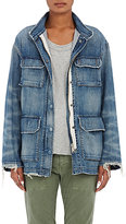 Nili Lotan Women's Lori Military Denim Jacket