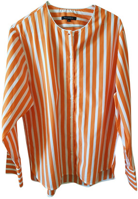 Tara Jarmon Orange Cotton Tops