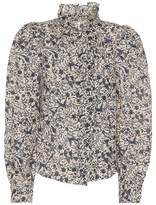 Etoile Isabel Marant Isabel Marant, Étoile Tauren floral-printed linen top