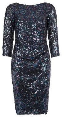 Dorothy Perkins Womens **Billie & Blossom Multi Colour Sequin Bodycon Dress