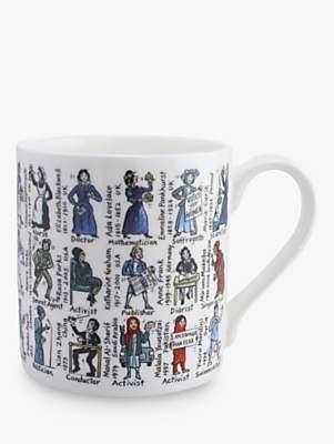 McLaggan Smith Women Who Changed The World Mug, 350ml