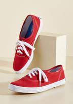 Keds It's Been Too Longboard Sneaker in Red in 6