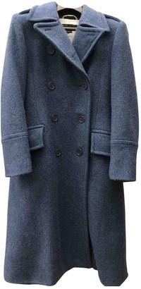 Marc Jacobs Blue Wool Coat for Women