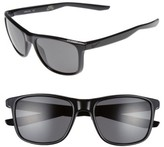 Nike Men's Unrest 57Mm Sunglasses - Black/ Matte Black