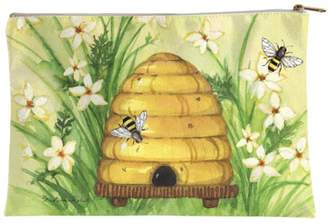 Sally Eckman Roberts Large Bee-Hive Pouch