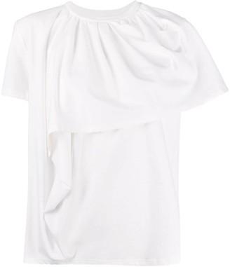 Christian Wijnants Teva draped front T-shirt