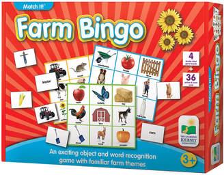 Learning Journey Match It Farm Bingo
