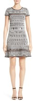 Herve Leger Women's Jacquard Knit Dress