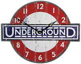 Roger Lascelles London Underground Wall Clock, 45.5 x 36cm