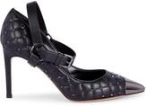 Valentino Garavani Quilted Leather Cap-Toe Pumps