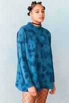 Silence & Noise Silence + Noise Tie-Dye Mock Neck Pullover Sweatshirt