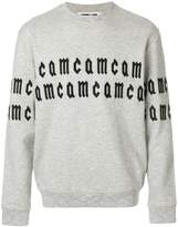 McQ repeated logo sweatshirt