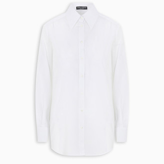 Dolce & Gabbana White pointed collar shirt