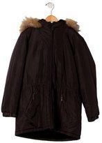 Bonpoint Girls' Hooded Jacket