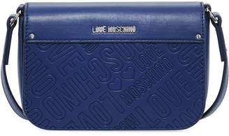 Love Moschino Borsa Faux-Leather Logo Shoulder Bag