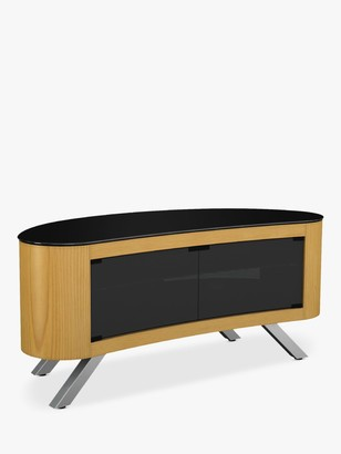 AVF Affinity Premium 1150 Bay Curved TV Stand For TVs Up To 55