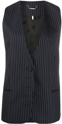 Chloé Pinstriped Tailored Waistcoat