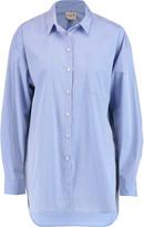 Sea Cotton-poplin shirt