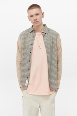 NATIVE YOUTH Deepdale Grey Shirt - Grey S at Urban Outfitters