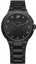 Swarovski City Black Stainless Steel Bracelet Watch