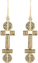 Henri Bendel Bendel Rocks Tribal Chandelier Earring