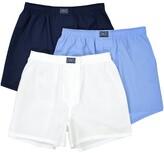 Polo Ralph Lauren Pack of 3 Pure Cotton Poplin Plain Boxer Shorts