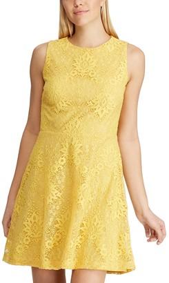 Chaps Petite's Fit & Flare Sleeveless Dress