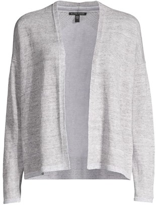 Eileen Fisher Slouchy Open-Front Cardigan