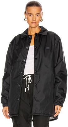 Acne Studios Oscodo Face Jacket in Black | FWRD