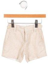 Jacadi Boys' Pinstripe Linen-Blend Shorts