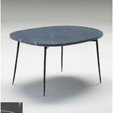 """Athena Large Coffee Table Brayden Studio Size: 16"""" H x 30"""" W x 22"""" D, Top Color: Black Marble"""