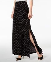 Kensie Printed Wide-Leg Pants